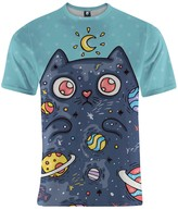 Aloha From Deer Space Cat T-Shirt