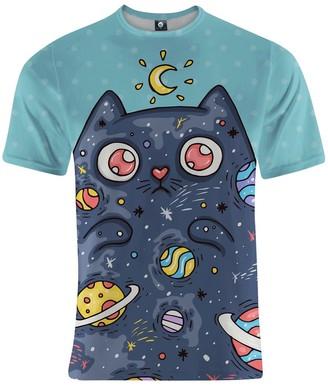 Aloha From Deer Space Cat T-Shirt
