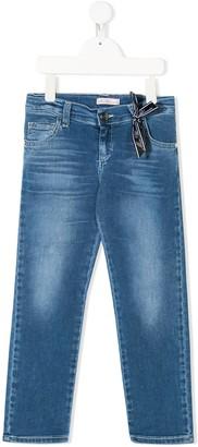 Miss Blumarine Slim-Fit Jeans