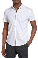 Scotch & Soda Men's Dot Print Shirt
