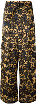 Christian Wijnants floral palazzo pants - women - Cupro/Viscose - 36