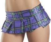 Be Wicked Womens Small-Medium (4-6) Micro Mini Pleated Skirt