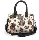 Loungefly Marvel Guardians Of The Galaxy Character Tattoo Duffle Cross body Bag Purse