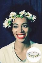 Cult Gaia Daisy Crown in White