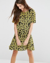 YMC Floral Printed Swing Dress