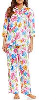 Lauren Ralph Lauren Floral Sateen Pajamas