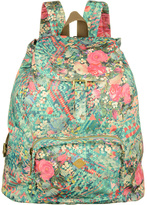 Oilily Mint Floral Diamond Backpack