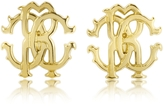 Roberto Cavalli RC Icon Metal Stud Earrings