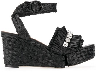 Paloma Barceló Flavia woven sandals