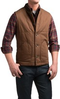 Pendleton Canvas Journey Vest - Insulated (For Men)