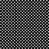 686 SheetWorld Fitted Basket Sheet - Primary Polka Dots Black Woven - Made In USA - 13 inches x 27 inches (33 cm x cm)