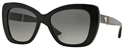 Versace Medusa Logo Flared Sunglasses in Havana VE4305Q 514813