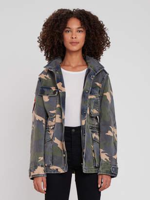 Zadig & Voltaire Kola Camo Jacket