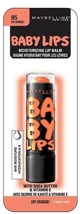 Maybelline Baby Lips Electro Lip Balm Oh! Orange!
