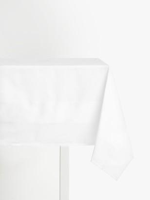 John Lewis & Partners Fine Tablecloth, White