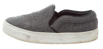 Celine Wool Slip-On Sneakers