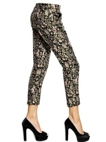 MSGM Techno Brocade Trousers