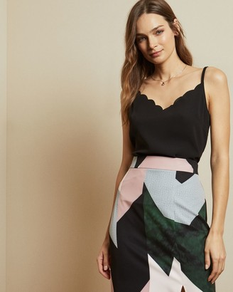 Ted Baker Scalloped Neckline Cami