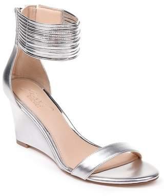 Badgley Mischka Starry Ankle Strap Wedge Sandal