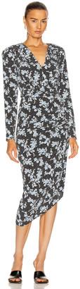 Veronica Beard Chana Dress in Black Multi | FWRD