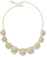 JCPenney MONET JEWELRY Monet Gold-Tone & Glass Collar Necklace