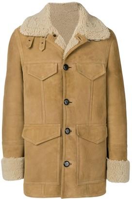 AMI Paris Shearling Jacket