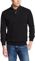 Cutter & Buck MCS01424 Mens Broadview Half Zip Sweater, -L