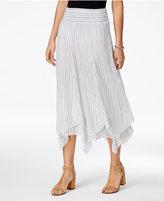 Style&Co. Style & Co Cotton Handkerchief-Hem Skirt, Created for Macy's