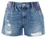 Topshop Maternity mdt rip boyfriend shorts