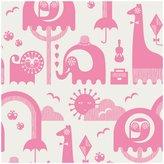 Jonathan Adler Junior Jungle Wallpaper - Pink