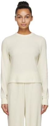SKIMS Off-White Waffle Long Sleeve T-Shirt