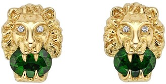 Stone Lion Earrings