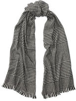 Ralph Lauren Oversized Glen Plaid Scarf