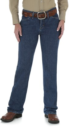 Wrangler Riggs Workwear Womens Fr Flame Resistant Western Mid Rise Boot Cut Jean Work Utility Pants