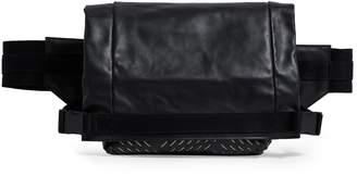 Bottega Veneta Perforated Leather Fold-Top Belt Bag