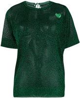 Zoe Karssen glitter T-shirt - women - Polyester - XS
