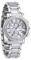 Invicta Women's Wildflower Quartz Watch with Mother of Pearl Dial Chronograph Display and Silver Stainless Steel Bracelet 4718