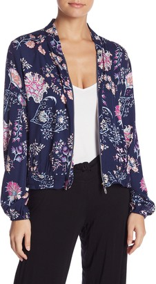 Josie Printed Zip Jacket