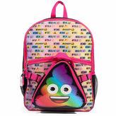 Asstd National Brand Emoji Poo Backback with Lunch Tote