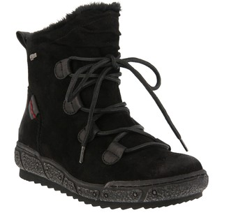 Spring Step Water Resistant Suede Boots - Hunnie