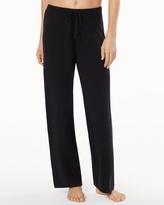 Soma Intimates Drawstring Cashmere Pants Black