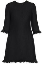 Dolce & Gabbana Fringe Sheath Dress