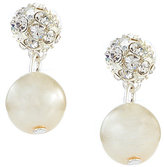 Cezanne Fireball & Pearl Drop Earrings