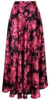 Stella McCartney Floral Jacquard Maxi Skirt