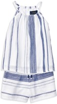 Ralph Lauren Girls' Stripe Top & Shorts Set - Sizes 2-6X