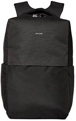 Pacsafe 15 Intasafe X Laptop Anti-Theft Backpack (Black) Backpack Bags