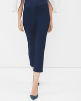 White House Black Market Perfect Form Straight Crop Pants