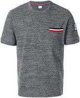 Moncler Gamme Bleu striped pocket T-shirt