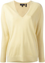 Theory V-neck jumper - women - Merino - XS
