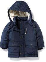 Old Navy Sherpa-Lined Frost-Free Jacket for Toddler
